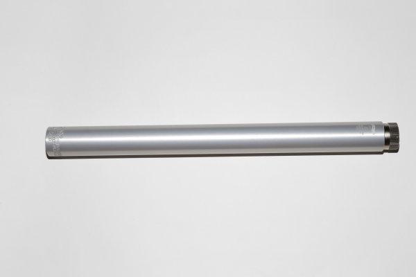 2761718 - LG 200/300/400/1250/ AR20 Pressluft Kartusche Alu silber mit Manometer
